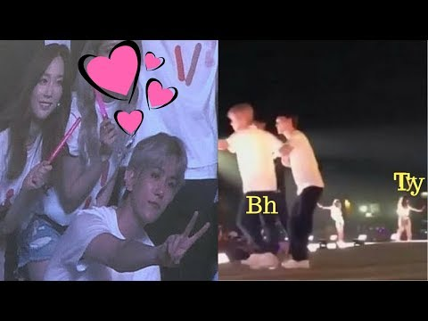 Baekyeon All Moments Of Smtown In dubai 2018