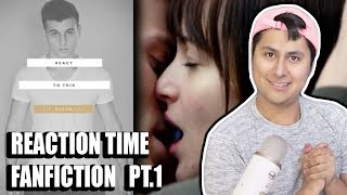 Reaction Time Fan Fiction - Me and Tal Kiss?