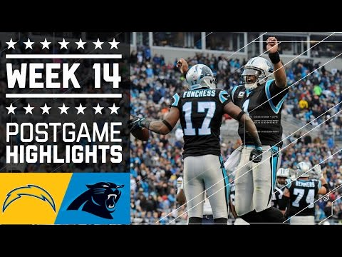 Carolina Panthers vs San Diego Chargers