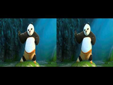 Kung Fu Panda 2 Trailer in 3d