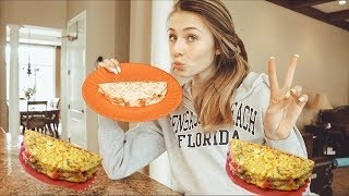 Cook an omelette with me!!