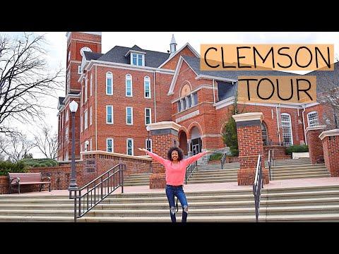 CLEMSON UNIVERSITY CAMPUS TOUR! 2019