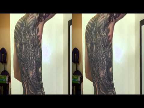 Justin Jarman's New sleeve. Toshiba Camileo Z100 3d video test by Fluntboy