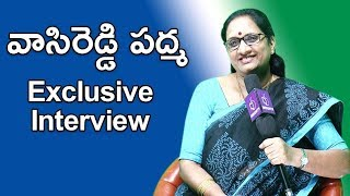 Vasireddy Padma Exclusive Interview'; opens up about famil..