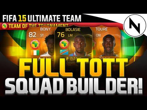 FULL TEAM OF THE TOURNAMENT SQUAD! - FIFA 15 Ultimate Team