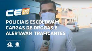 Policiais escoltavam cargas de drogas e alertavam traficantes sobre operações