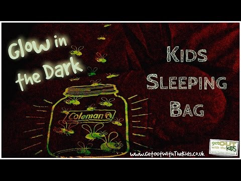 video Glow-in-the-Dark Kids Sleeping Bag Review