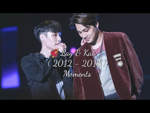 EXO Kai and Lay Moments「 Kaixing 」Let Me Love You ♡ (2012 - 2016)