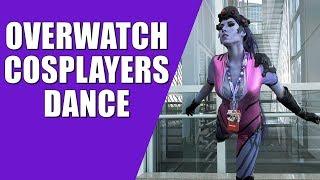 Overwatch Cosplayers Dance - Anime Expo 2017