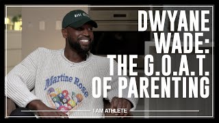 Dwyane Wade: The G.O.A.T. of Parenting | I AM ATHLETE w/ Brandon Marshall, Ryan Clark & More