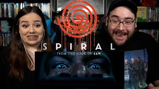 Spiral FROM THE BOOK OF SAW -  Official Trailer Reaction / Review
