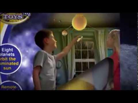 Remote Control Illuminated Solar System