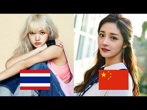 Foreign K-POP Female Idols