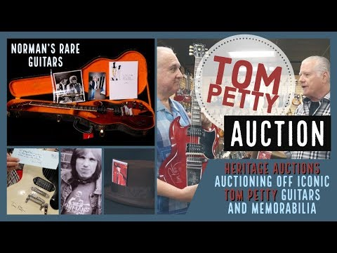 Norman's Rare Guitars Auctions Off Iconic TOM PETTY Guitars and Memorabilia | Heritage Auction