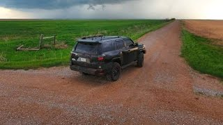 Brandon Sullivan Live Stream Storm Chase from SW Oklahoma - 4/26/2016
