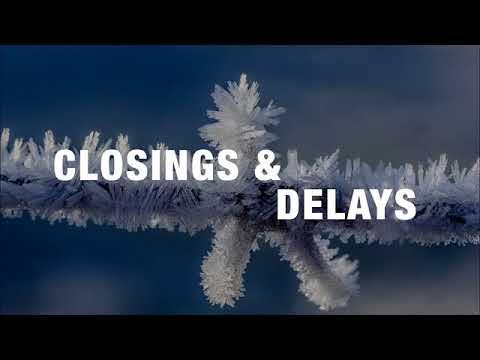 school closings and delays tomorrow