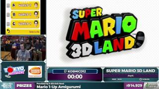 Super Mario 3D Land by kosmicd12 in 56:20 - Awesome Games Done Quick 2017 - Part 157