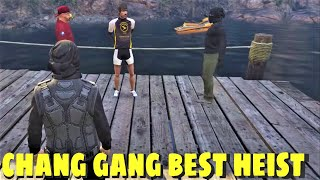 Grand Theft Auto V Full planing and Bank Robbery by Summit1g