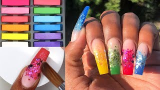 HOW TO: Make Custom Acrylic Powders Using Chalk