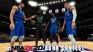 Tallest NBA Players Dunk Contest! | NBA 2K20