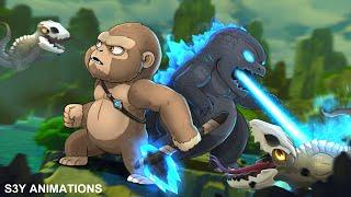 Baby Godzilla, Kong vs. Skullcrawlers – Animation 5
