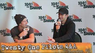 Twenty One Pilots - The Bandito Tour - Sunrise Press Conference Q&A