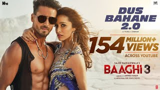 Dus Bahane 2.0 – Vishal – Shekhar – KK  – Baaghi 3 Video HD