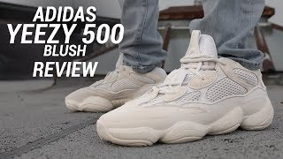 ADIDAS YEEZY 500 BLUSH REVIEW