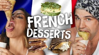 Americans Try Fancy AF French Desserts (Cheat Day)