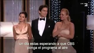 Jim Parsons (Sheldon Cooper) gana el Golden Globe! [subtitulado]