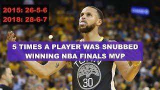 5 BIGGEST ROBBERIES - NBA FINALS MVP
