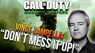 """DON'T MESS IT UP!"" VINCE ZAMPELLA ON COD4 MODERN WARFARE REMASTERED!"
