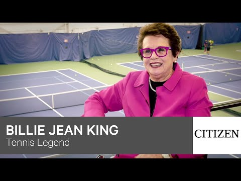 Citizen is pleased to announce its partnership with Billie Jean King and upcoming film Battle of the Sexes.