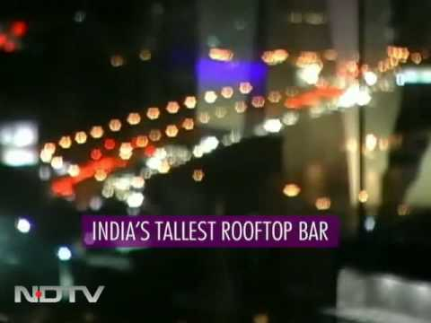 Aer Bar: India's tallest rooftop bar