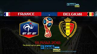 FRANCE vs BELGIUM |Goals and Highlights| Semi-Final | FIFA World Cup Russia 2018