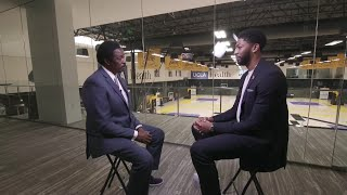 CBS2/KCAL9's Sports Director Jim Hills Goes 1:1 With Lakers' Anthony Davis