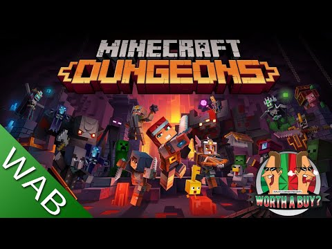 Minecraft Dungeons Review - Worthabuy?