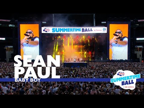 Sean Paul - 'Baby Boy'  (Live At Capital's Summertime Ball 2017)