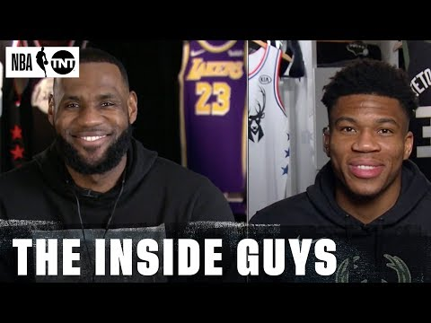 NBA All-Star Draft with LeBron & Giannis | NBA on TNT