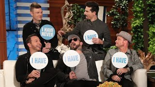 Backstreet Boys Play 'Never Have I Ever'