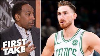Brad Stevens mishandling Gordon Hayward in Celtics' rotations – Stephen A. | First Take
