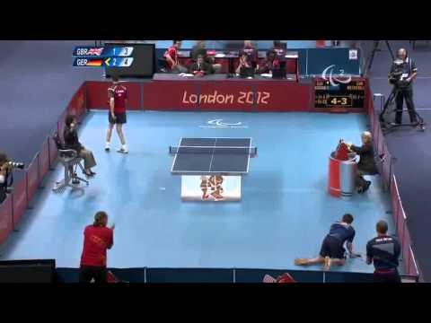 Уникален удар - тенис на маса