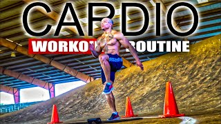 40 MINUTE FAT BURNING CARDIO WORKOUT(NO EQUIPMENT)