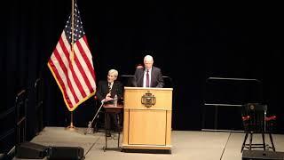 McCain addresses Midshipmen at Naval Academy