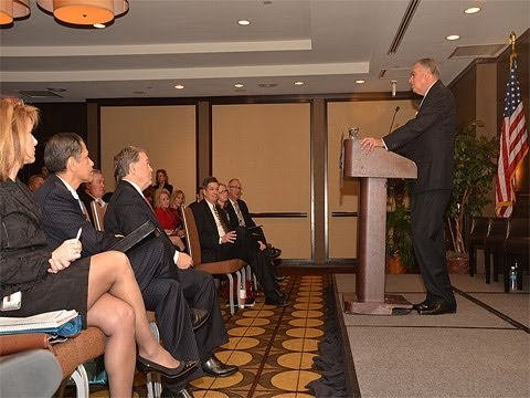 AASHTO Pres. Steudle, Rep. Mica & Sec. LaHood Featured