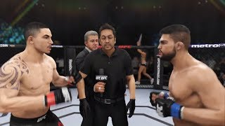 Robert Whittaker vs. Kelvin Gastelum (EA Sports UFC 3) - CPU vs. CPU