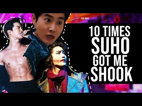 10 TIMES SUHO GOT ME SHOOK