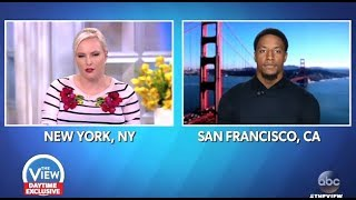 "Eric Reid: To VP Pense ""This Is Systemic Opression""  (The View)"