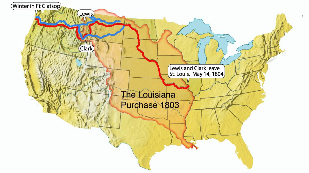 States Traveled By Lewis And Clark