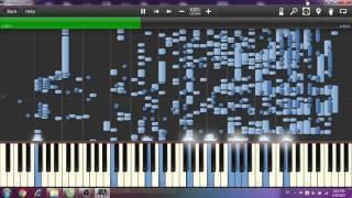 BÌNH YÊN NHỮNG PHÚT GIÂY (Sơn Tùng MT-P) SYNTHESIA CRAZIEST PIANO EVER !!!